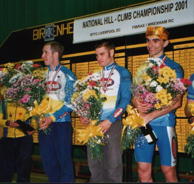National Hillclimb podium